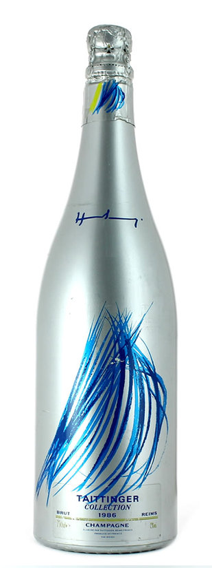 Taittinger, Collection Hartung, avec étui, 1992